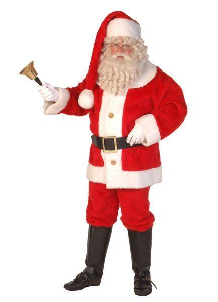 kerstman verkleedkleding geheel compleet
