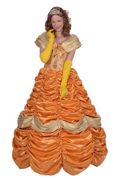 Oranje sisi prinsesenjurk