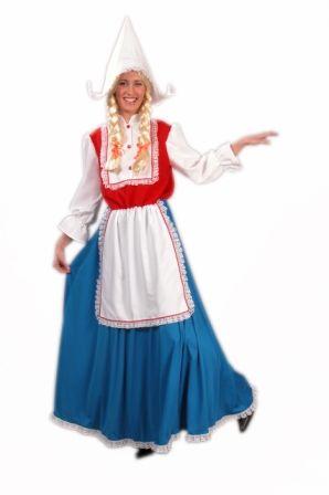 Oud Hollandse kledendracht voor vrouwen