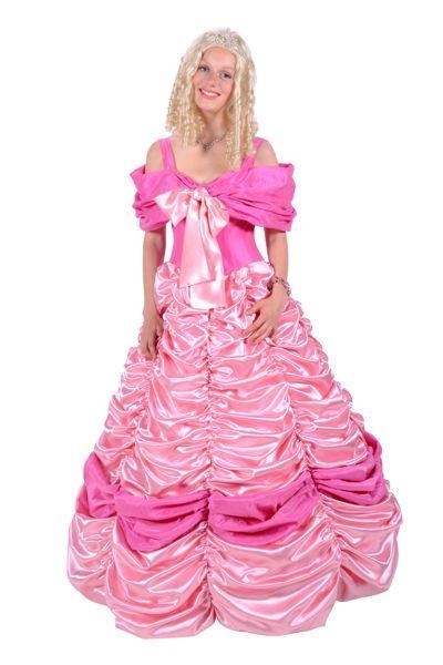 Rose prinsessen baljurk voor volwassenne