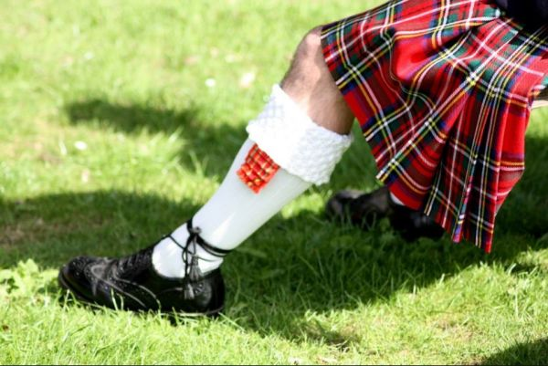 Losse kilts (Highland Games)