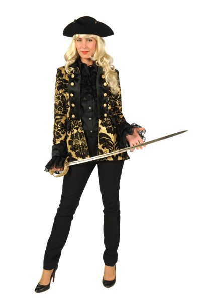 Vrouwlijke piratenkleding