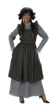 Dickens damesoutfit boerenvrouw