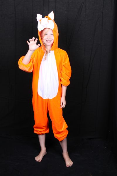 verkleedkleding pak van een vos voor kinderen