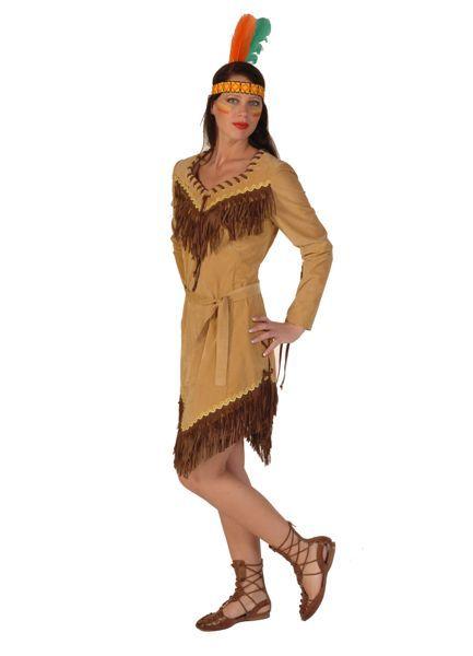 indianenpakken bruin korte rok