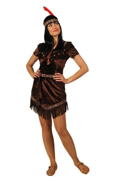 indianenkostuum voor vrouwen