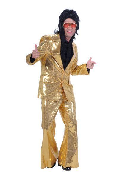 jaren 70 gouden 3 delig pak