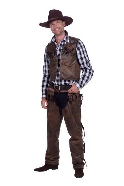 cowboyverkleedkleding voor mannen en vrouwen compleet
