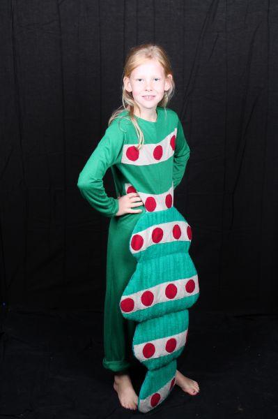 rupsenpak verkleedkleding voor kind