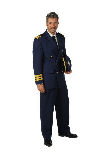 Marine uniformen blauw met gouden bewerkingen