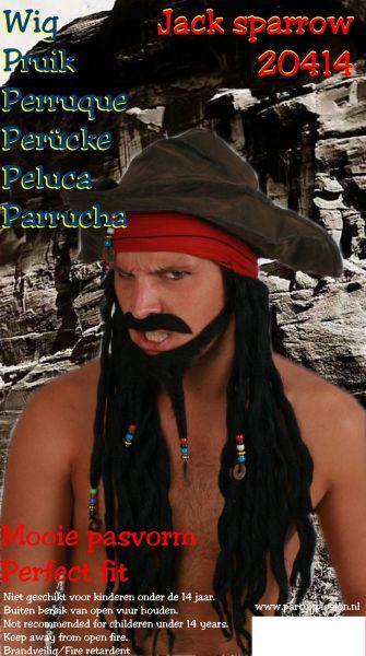 pruiken van piraten/VOC