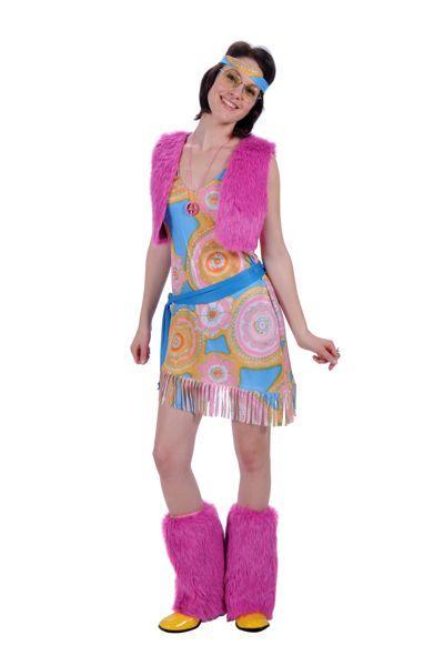 Hippiekleding voor themafeesten