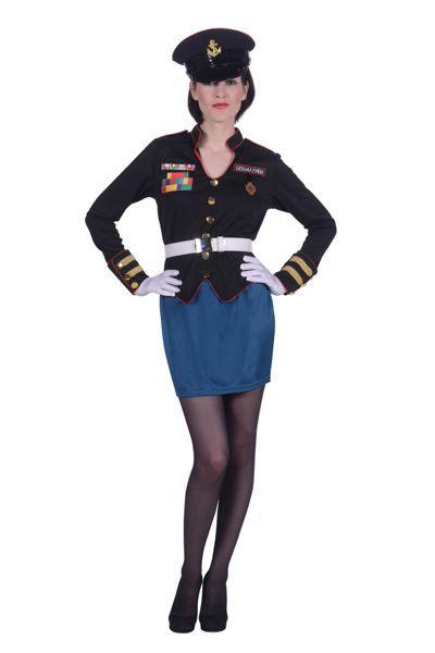 Sexcy damesuniformen van marine en politie