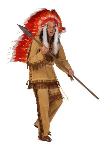 Complete outfit voor indianen
