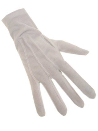 witte handschoenen van sinterklaas