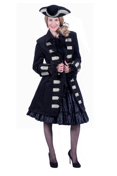 stijlvol piratenkostuum voor een vrouw