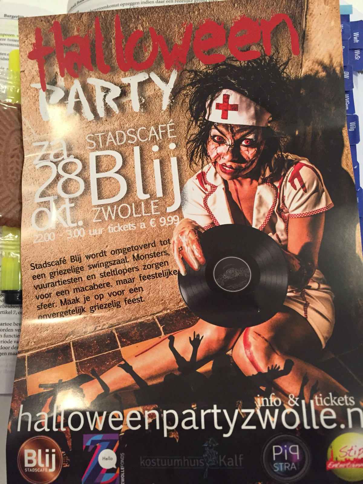 19-10-2017 Halloween party Zwolle