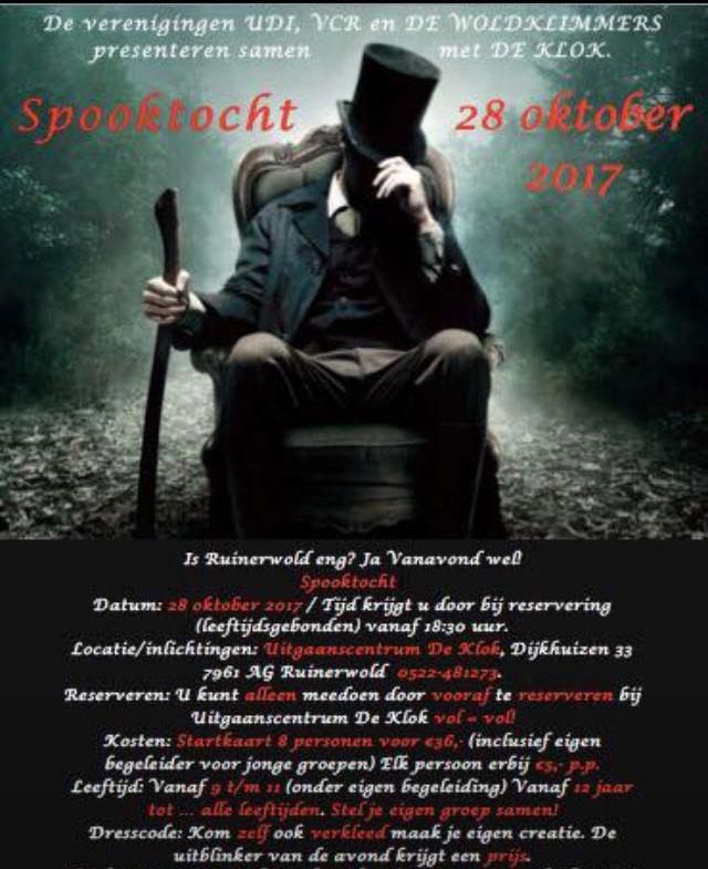 28-10-17 Spooktocht Ruinerwold
